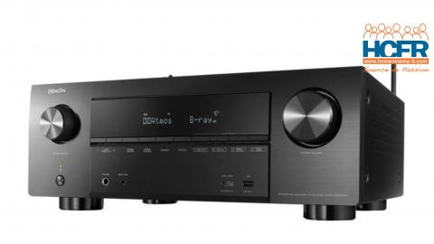 Video HCFR : Denon AVR-X3600H, processeur 11.2 canaux doté de 9 amplis – Menus