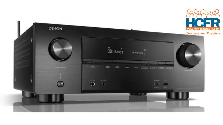 Video HCFR : Denon AVR-X3600H, processeur 11.2 canaux doté de 9 amplis – unboxing & présentation