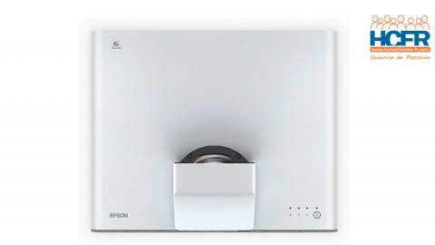 Test HCFR : Epson EH-LS500, projecteur laser à courte focale, e-shift 4K