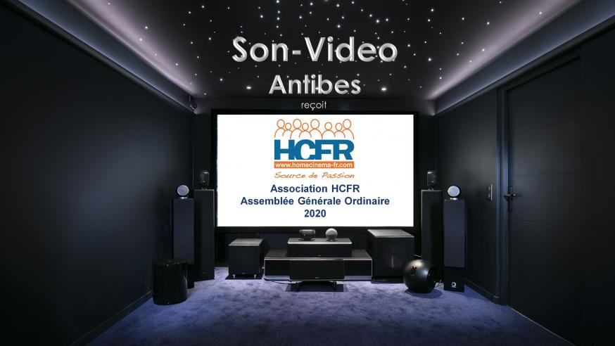 Reportage HCFR : Son-Video, Antibes – AG 2020 de l'Association HCFR & Journée de Rencontres