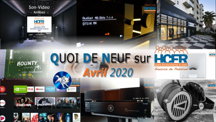 QUOI DE NEUF sur HCFR  – (QDN) – Avril 2020