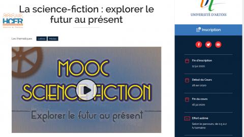 News HCFR : MOOC Science-Fiction