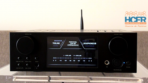 Video HCFR : Cocktail Audio HA500H, DAC, ampli hybride pour casques – Présentation