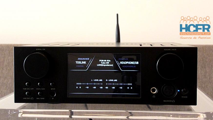 Video HCFR : Cocktail Audio HA500H, DAC, ampli hybride pour casques – Présentation