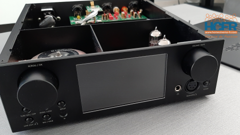 Video HCFR : Cocktail Audio HA500H, DAC, ampli hybride pour casques – Unboxing & intérieur
