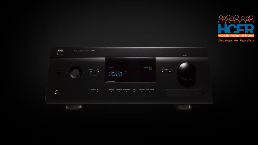 Comptes-rendus d'utilisateurs HCFR : NAD T777 V3, intégré Home-Cinema