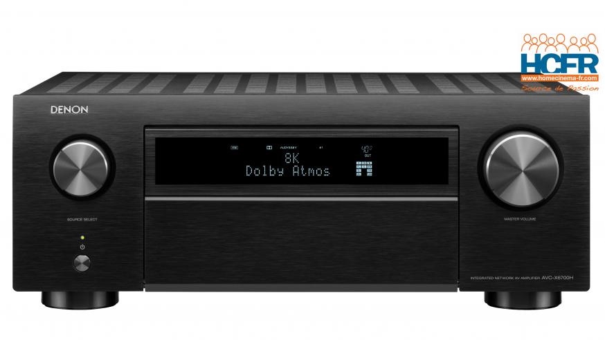 News HCFR : Denon présente les premiers intégrés HC 8K-Ready