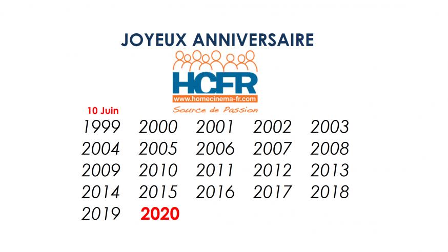 Joyeux 21ème anniversaire HCFR