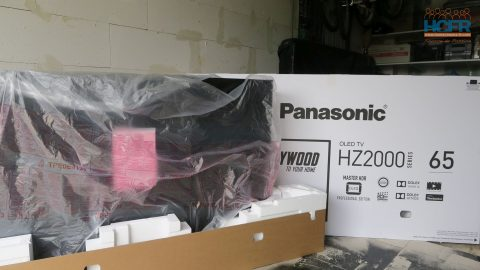 Video HCFR : Panasonic TX-65HZ2000, TV OLED – Unboxing