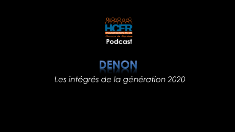 Podcast HCFR : Denon, les nouveaux intégrés de la génération 2020