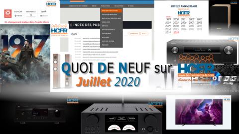 QUOI DE NEUF sur HCFR  – (QDN) – Juillet 2020
