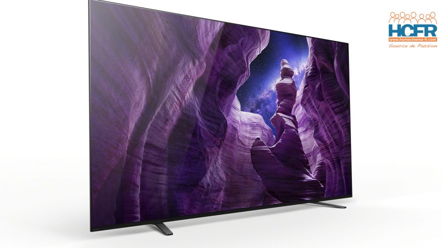 Video HCFR : Sony KD-65A8, TV OLED – Installation & Menus