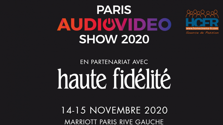 News HCFR : PAVS & Haute Fidélité 2020