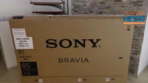 Video HCFR : Sony KD-85ZH8 – unboxing & présentation