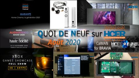 QUOI DE NEUF sur HCFR  – (QDN) – Août 2020