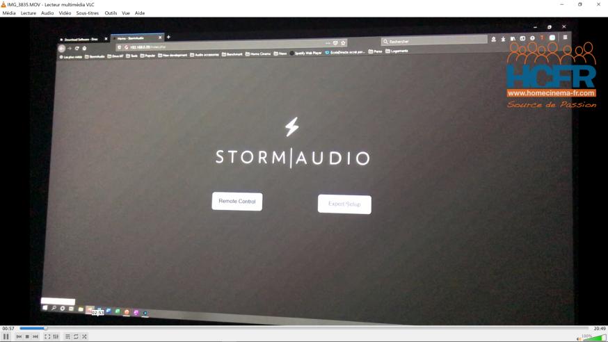 Video HCFR : Stormaudio ISP Mk2 – Calibration Dirac Live Bass Control