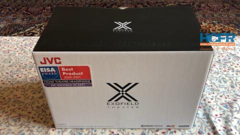 Video HCFR : JVC XP-EXT1 Exofield, casque HC 7.1.4 – Unboxing & présentation