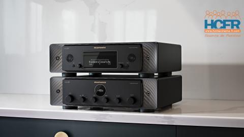 News HCFR : Marantz Model 30 & SACD 30n, le nouveau «look» Marantz
