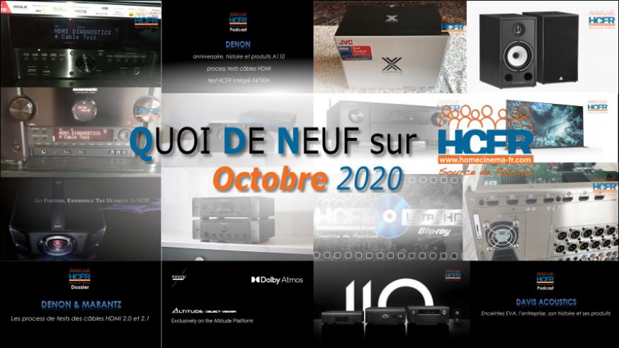 QUOI DE NEUF sur HCFR  – (QDN) – Octobre 2020