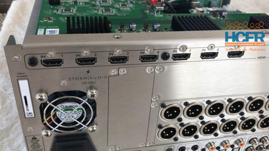 Video HCFR : Stormaudio ISP Mk2 – Intérieur