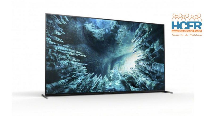Test HCFR : Sony KD-85ZH8, TV 8K