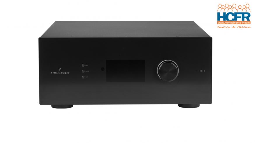 Test HCFR : StormAudio ISP Mk2, préampli 32 canaux