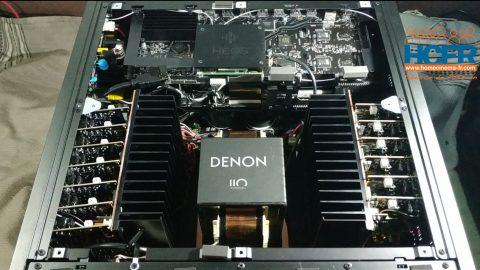 Video HCFR : Denon AVC-A110, Spécificités et intérieur