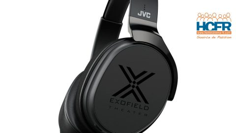 Test HCFR : JVC XP-EXT1 Exofield, reproduction de 7.1.4 canaux au casque