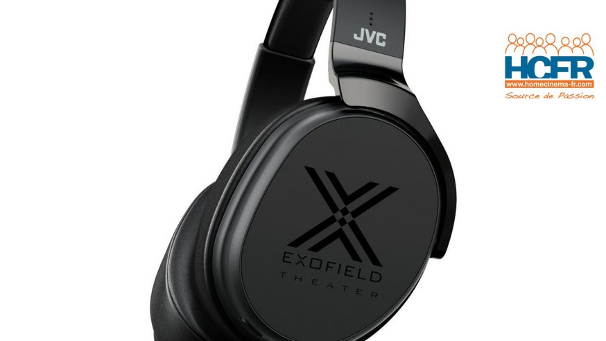 Test HCFR : JVC XP-EXT1 Exofield, reproduction de 7.1.4 canaux au casque
