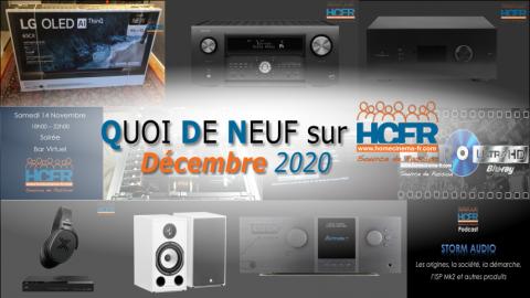 QUOI DE NEUF sur HCFR  – (QDN) – Décembre 2020