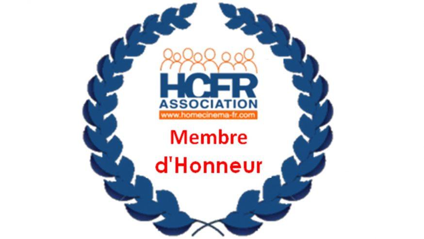 Association HCFR – Nomination d'un Membre d'Honneur