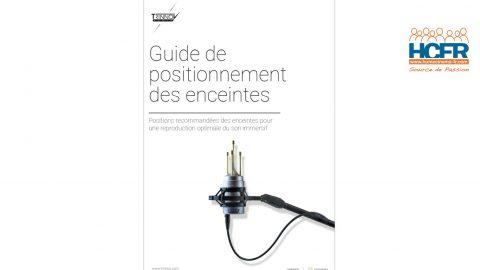 Diffusion HCFR : Trinnov Audio – Guide 2020 de Positionnement des Enceintes