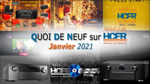 QUOI DE NEUF sur HCFR  – (QDN) – Janvier 2021