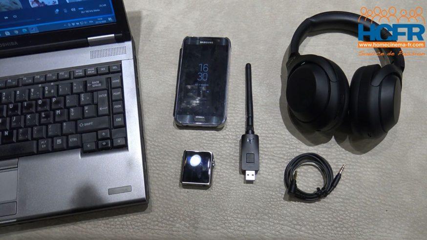 Vidéo HCFR : Sony WH-1000XM4, les différentes connexions
