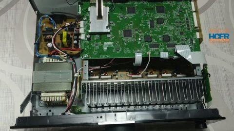 Vidéo HCFR : Yamaha RX-A2A, L'intérieur