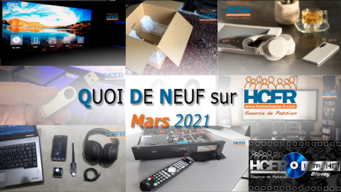 QUOI DE NEUF sur HCFR  – (QDN) – Mars 2021