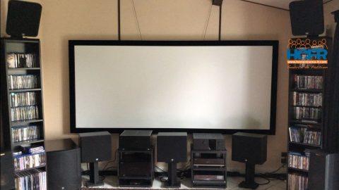 Vidéo HCFR : XY Screens, écran cadre HK80C, toiles MF1 et WF1 Pro Max 4K HG, Unboxing & montage