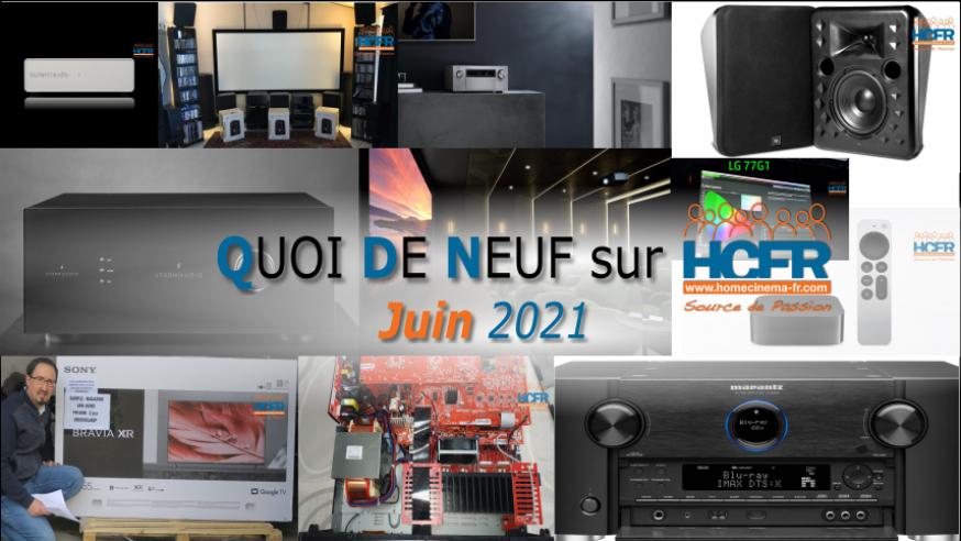 QUOI DE NEUF sur HCFR  – (QDN) – Juin 2021