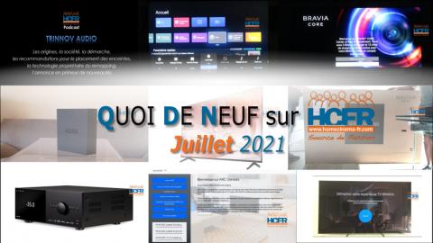 QUOI DE NEUF sur HCFR  – (QDN) – Juillet 2021