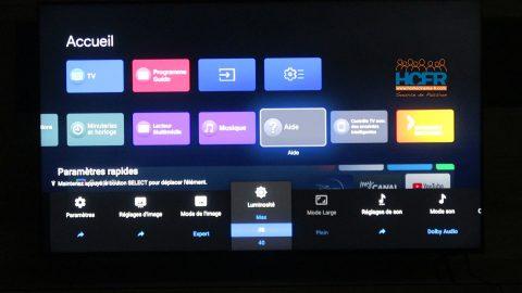 Vidéo HCFR : Sony XR-65X90J – Menus