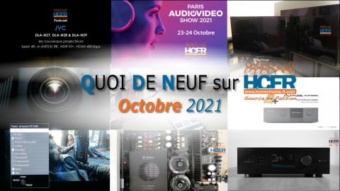 QUOI DE NEUF sur HCFR  – (QDN) – Octobre 2021