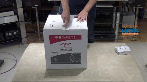 Vidéo HCFR : Paradigm SEISMIC 110, caisson de basses – Unboxing