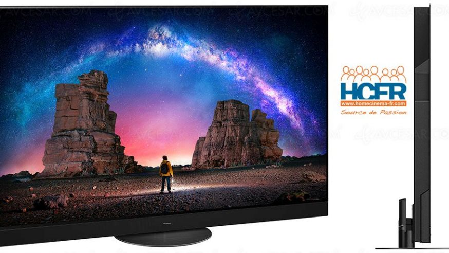 Test HCFR : Panasonic 65JZ2000, TV OLED