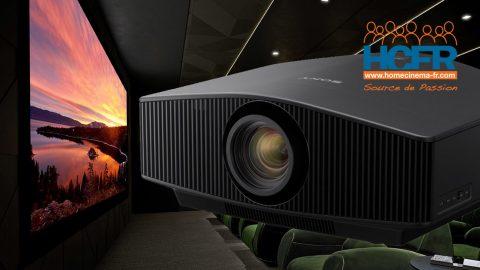 Test HCFR vidéoprojecteur Sony VPL-VW890ES