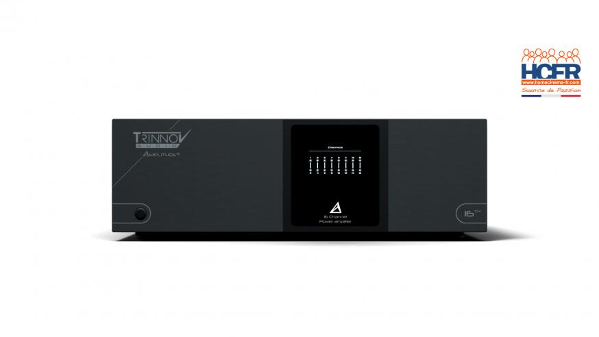 News HCFR : Amplitude16, le nouvel ampli 16 * 200W / 8 Ohms by Trinnov