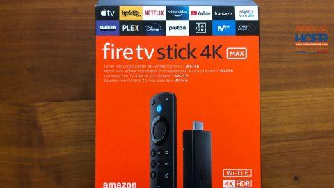 Vidéo HCFR : Amazon FireTV Stick 4K Max, clé streaming – Unboxing